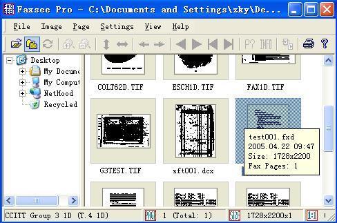 FaxSee Pro Screenshot