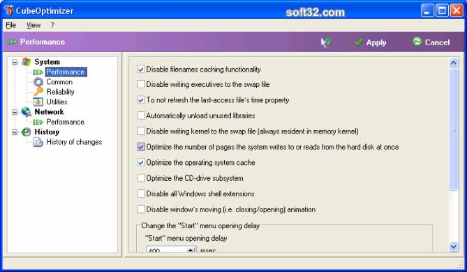 CubeOptimizer Screenshot 1