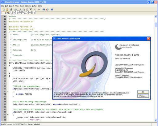 Qwined Multilingual Technical Editor Screenshot 3
