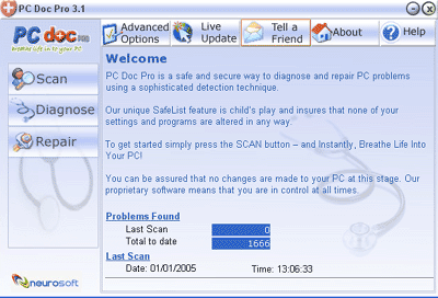 PC Win Doctor Pro Screenshot 1