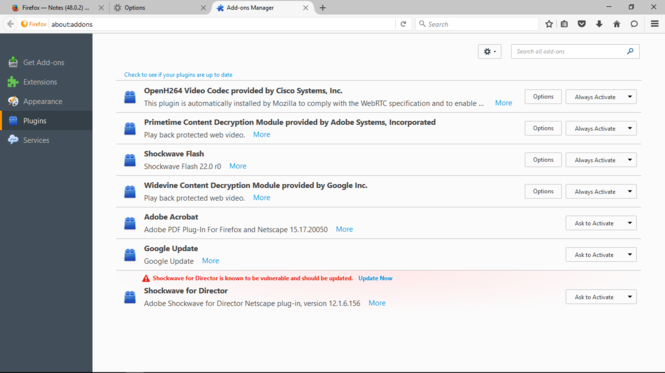 Mozilla Firefox Screenshot 1