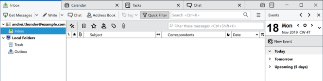 Mozilla Thunderbird Screenshot