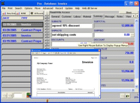 Invoice Organizer Pro Screenshot