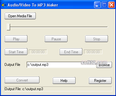 Audio/Video To MP3 Maker Screenshot 2
