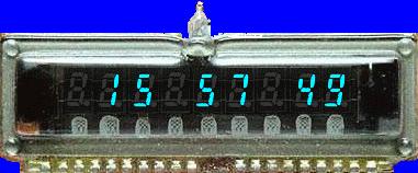 Scotts Nixie Tube Clock Screenshot 1
