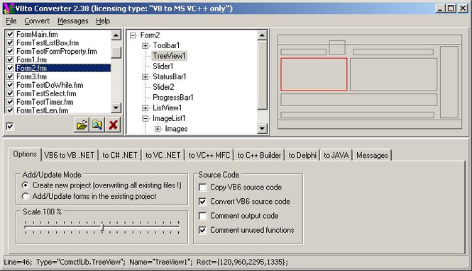 VBto Converter Screenshot